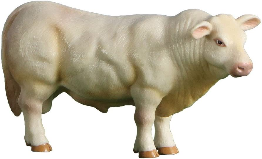 Little Buster Toys Charolais Bull Mesa Soldering Mall Scale 1 16th Realistic -