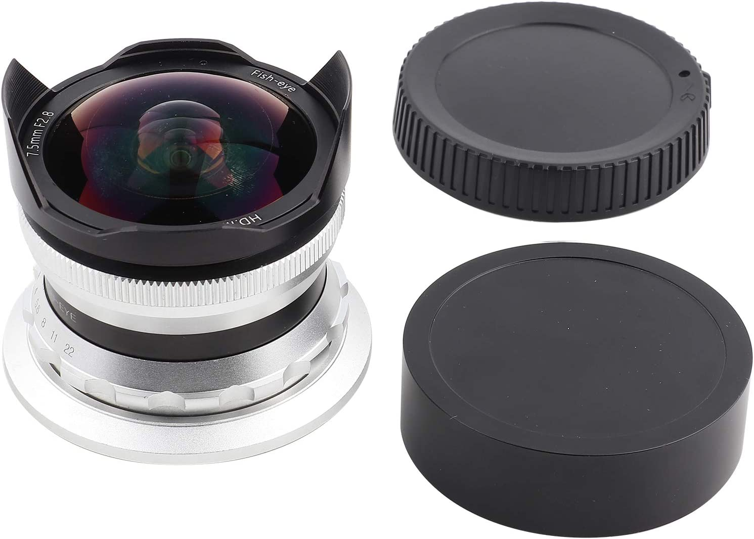 trend rank Z Mount 1 year warranty Fisheye 7.5MM Mirrorless Lens Nikon for Camera Durable