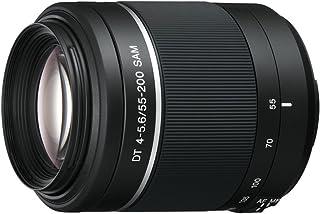 Sony SAL 55200 2 Tele Zoom Objektiv (55 200 mm, F4 – 5,6 SAM II, A Mount APS C, geeignet für Alpha 77/68/58 Serien)