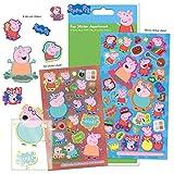 Paper Projects 01.70.31.001 Peppa Pig - Juego de pegatinas, diseño de Peppa Pig, color/modelo surtido