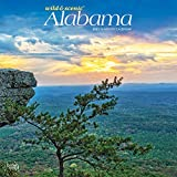 Alabama Wild & Scenic 2021 12 x 12 Inch Monthly Square Wall Calendar, USA United States of America Southeast State Nature