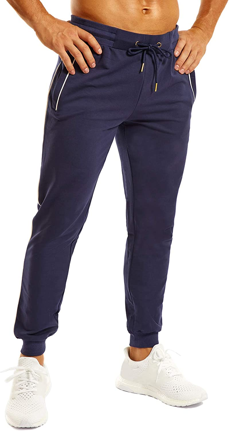 OuBER Men's Comfortable Workout Exercise Max 44% OFF Gym Sweat Jogger Pants Sale Special Price
