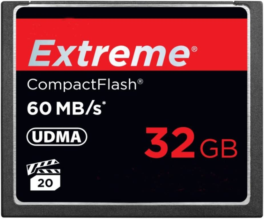 Extreme PRO 32GB CompactFlash Memory Card UDMA Up to 60 MB/s Read Speed, Camera Cards