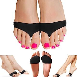 پد متاتارس فشرده سازی مس برای زنان و آقایان. تضمین بالاترین بالشتک کف مسی برای کف پا. بالشتک های ژل بالایی پا برای نورون مورتون ، سزاموئیدیت ، کپسولیت متاتارس کالوس
