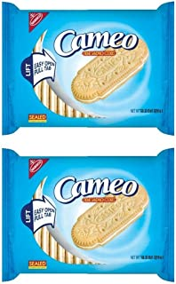 Nabisco Cameo Creme Sandwich Cookies, 13.3 OZ (Pack of 2)