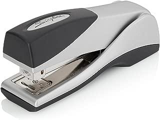 Swingline Stapler, Optima Grip Compact Desktop Stapler, 25 Sheet Capacity, Jam Free, Silver (87816)