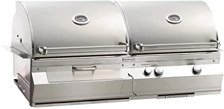 product image for Fire Magic Grills Aurora A830i Built-in Gas & Charcoal Combo Grill w/o Rotisserie - NG