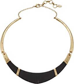 Lucky Brand - Leather Wrapped Choker