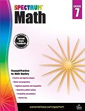 Spectrum   Math Workbook   7th Grade, 160pgs