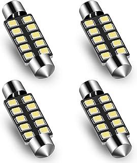 Audak Festoon LED Bulb 42mm 2835 8SMD Canbus Error Free Fit for Interior Dome Map Lights Door Courtesy Lights Trunk Lights...