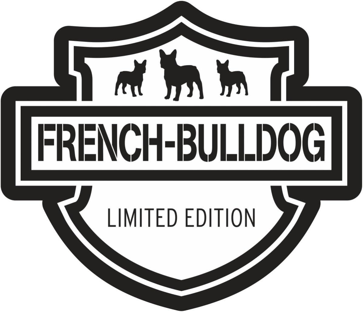 Aufkleber Wetterfest French Bulldog 14 Cm Oder 46 Cm Französische Bulldogge Hund Auto