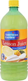 american Garden Lemon Juice from Concentrate, 946 ml