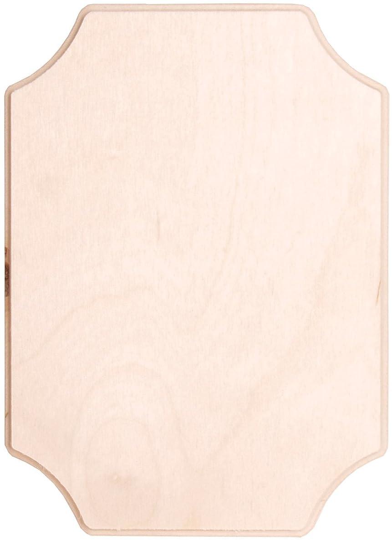 Walnut Hollow 24622 Baltic Birch French Corner Plaque, 5 by 7-Inch