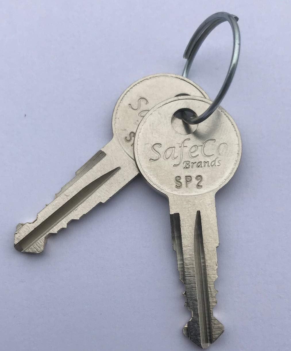 2-Keys for Hummer H3 Roof Rack Cross Bar SP1-SP5 SafeCo Brands Products SP1 Hummer Roof Rack