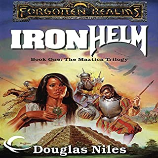 Ironhelm audiobook cover art