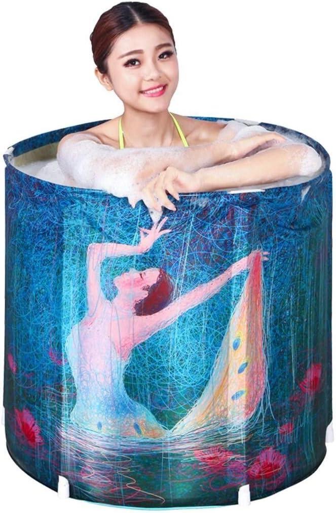 Adult Folding Bathtub Free Infla Home Indefinitely Inflatable NEW