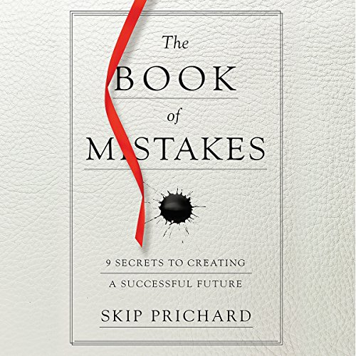 The Book of Mistakes audiobook cover art