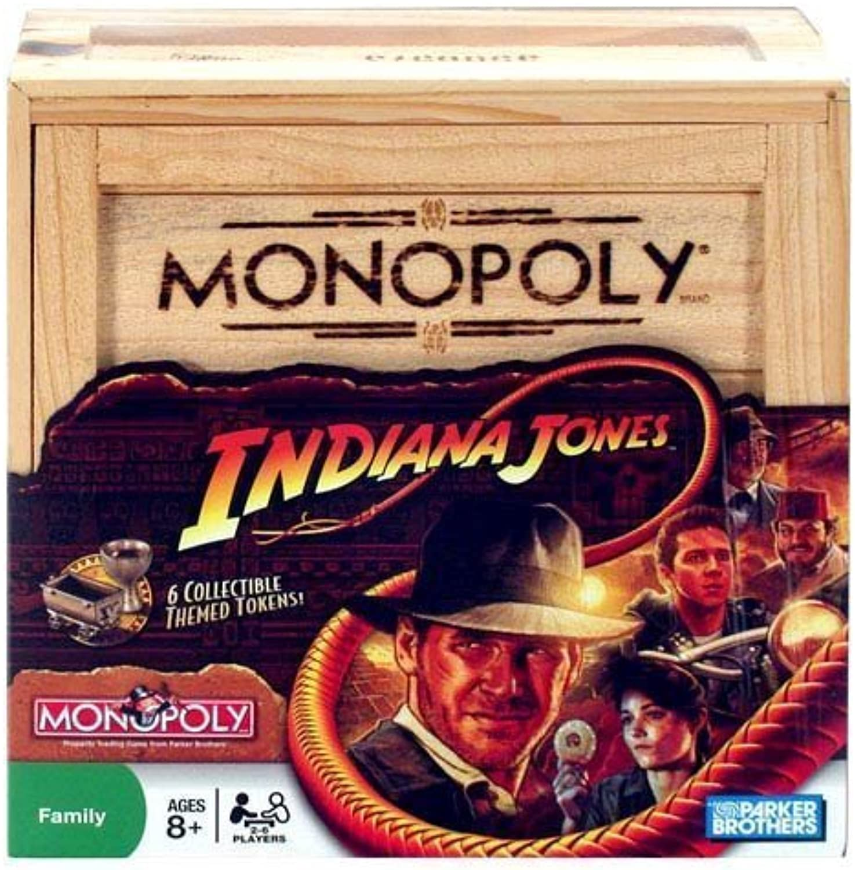 Monopoly Indiana Jones Edition by Hasbro