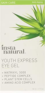 InstaNatural Eye Gel Cream – Wrinkle, Dark Circle, Fine Line, Puffiness, Redness..