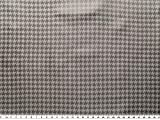 ab 1m: Taffeta, Taft, Hahnentritt, grau, 140cm breit