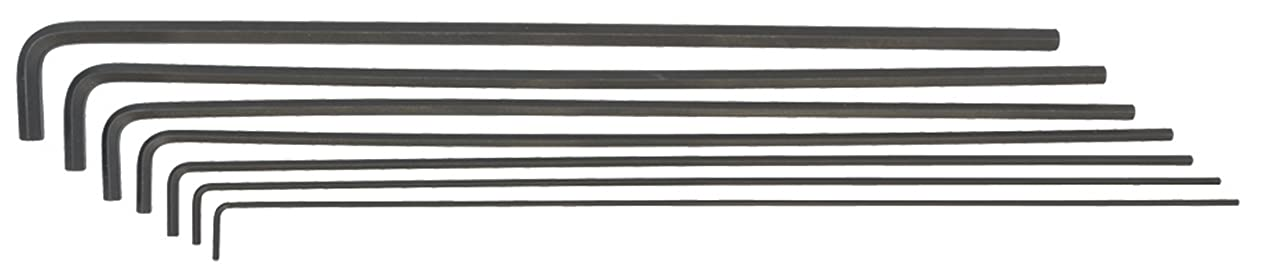 Bondhus 25445 Hex L-Wrenches with 12-Inch Long Arm, Set of 7