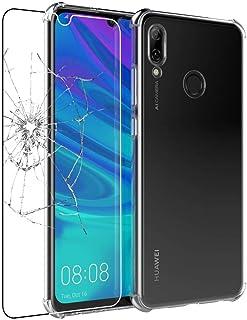 ebestStar – kompatibel med Huawei P Smart 2019 fodral klar ultratunn flexibelt silikonfodral, förstärkta hörn, genomskinli...