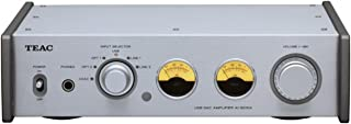 Teac AI-501DA-S Integrated Amplifier with 192kHz USB Audio Input (Silver)