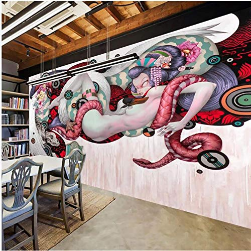 Fonds D'Écran 3D Mur De Fond Mural De Barre D'Outils Graffiti Peinte À La Main De Personnalité De La Mode Moderne Fond De Salon Tv Chambre-300Cmx210Cm