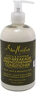 Shea Moisture Yucca & Plantain Condition 13 Ounce (384ml) (3 Pack)