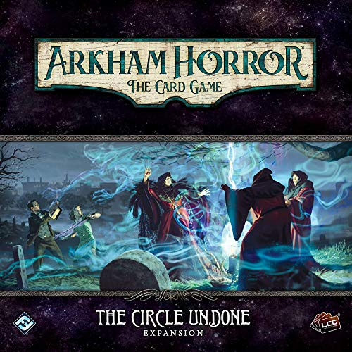 Fantasy Flight Games FFGAHC29 The Circle Undone: Arkham Horror LCG Expansión