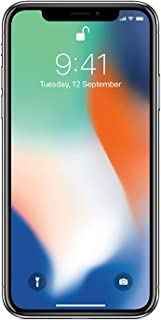 Apple iPhone X 64GB - Plata - Desbloqueado (Reacondicionado)