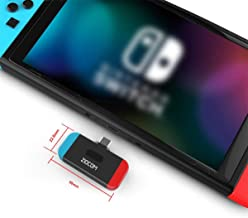 ZIOCOM Bluetooth Adapter Audio Transmitter for Nintendo Switch,USB C Connector Low..