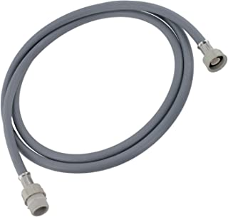 Spares2go Straight End Cold Water Fill Inlet Hose Extension for Belling Dishwasher (2.5M)