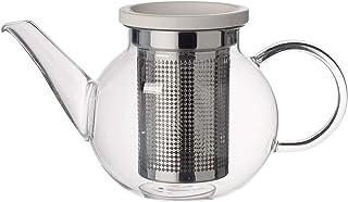 Villeroy und Boch Artesano Hot und Cold Beverages dzbanek do herbaty S z sitkiem, 500 ml, szkło borokrzemowe/stal nierdzew...