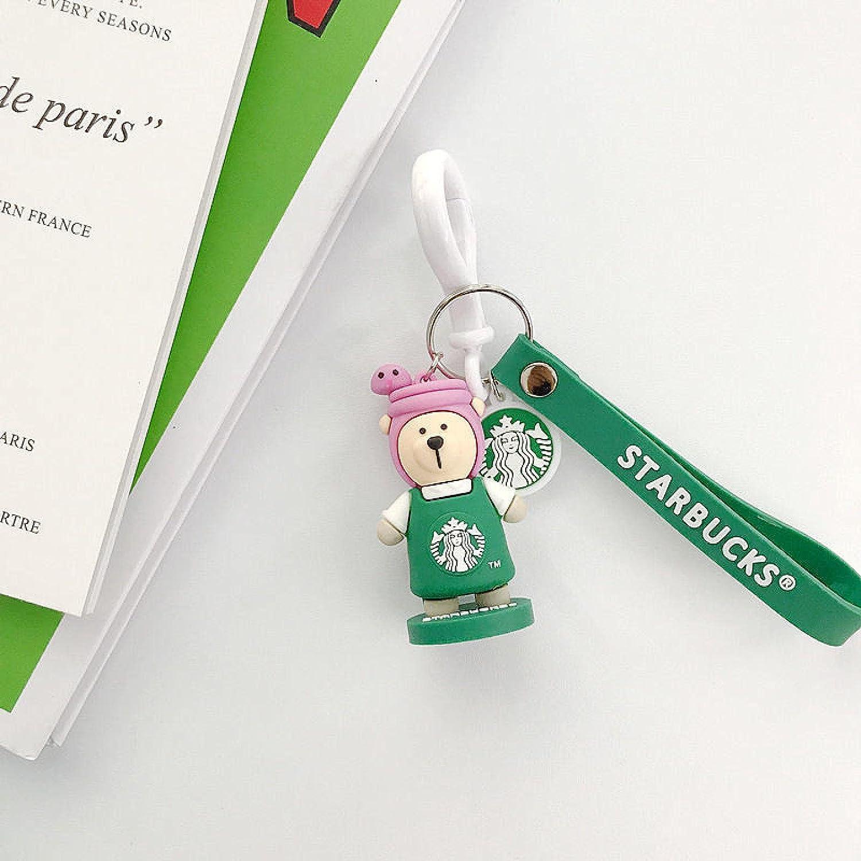 SZLGPJ Bear Zodiac Character Doll Couple Luxury goods Bag Car Keychain Pendan At the price
