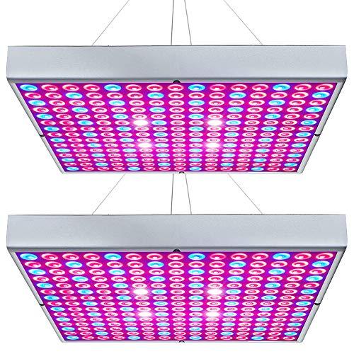 7 | Hytekgro LED Grow Light 45W Plant Lights Red Blue White Panel Growing Lamps
