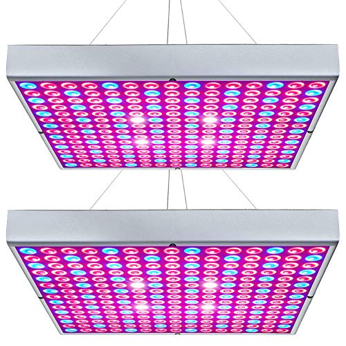 Hytekgro LED Grow Light 45W Plant Lights Red Blue White Panel Growing Lamps for...