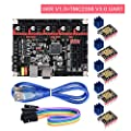 PoPprint SKR V1.3 32Bit ARM Controller Board Equipped with Open Source Firmware Marlin2.0 and Smoothieware Use Gold Deposition Technology Support TMC2130 TMC2208 DRV8825 A4988 Driver for 3D Printer.