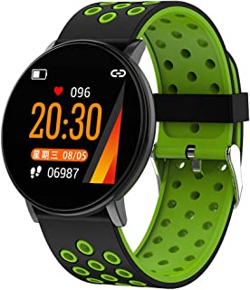FUN+Smartwatch Activity Tracker Fitness Tracker Monitor De Ritmo Cardíaco Reloj Inteligente, Teléfono/SMS Recordatorio Pantalla Táctil Reloj Deportivo, para Niños Hombres Mujeres Adroid iOS