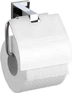 Wenko 17973100 San Remo Power-Loc No-Drill Attachment 14 x 13 x 7 cm Rust-Proof Chrome Toilet Roll Holder