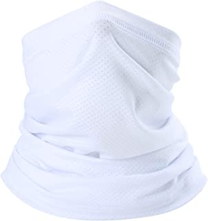 Summer Face Mask Breathable Sun Protection Neck Gaiter for Fishing Hiking Camping Outdoors Versatile Headwrap