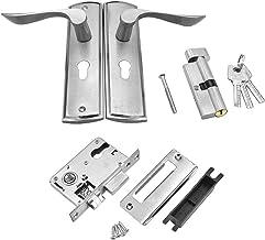 Slot Mechanische deurslot Set Aluminiumlegering Handvat Deadbolt Lent Locks Interior Lockset Kit Home Office Security Deur...