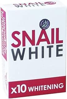 Snail White Body Bar Soap for Whitening Skin 70g | Pack of 3