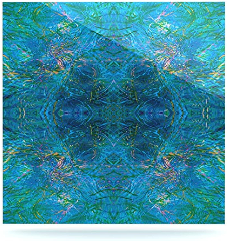 Kess eigene nikposium Clearwater  Blau Blau Blau Blaugrün Luxe Platz Panel, 8 von 20,3 cm B014WSGREI cac4d9