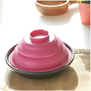 BGSFF Cast Casserole Casserole Pot Enamelled Heat Resistant Cast Iron Shade Pot with Lid Taji Pot Stoneware Open Flame Hea...
