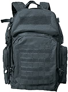 Commando Industries Systempack - Mochila para moto, color negro