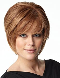 RL6/8 Dk Chocolate Lace Front Monofilament Opening Act Wig by Raquel Welch