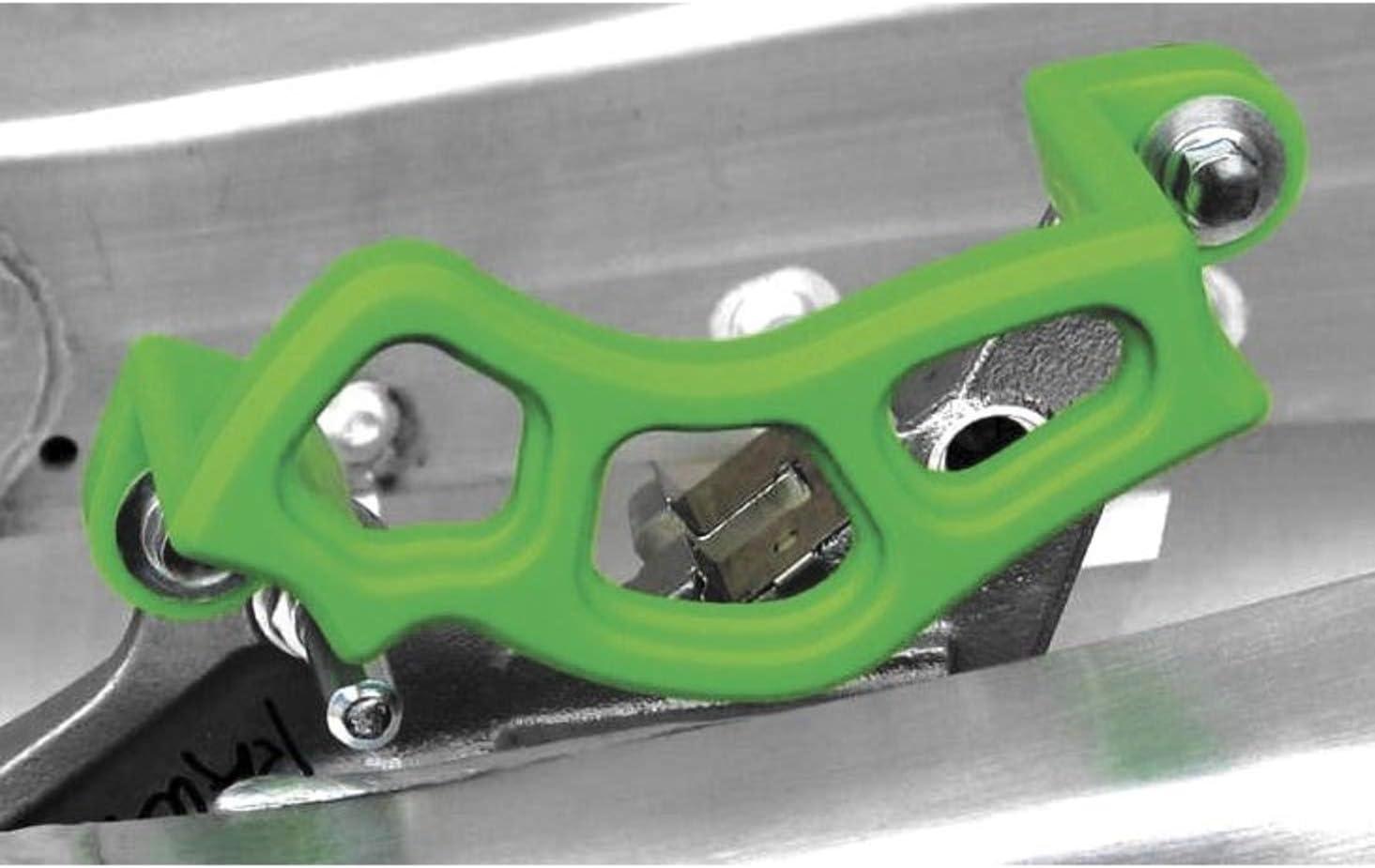 TM Superlatite Designworks Brake Caliper Guard Green KLX 06 for Kawasaki Max 85% OFF KXF