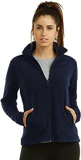 Sofra Women's Polar Fleece Full Zip Up Winter Jacket