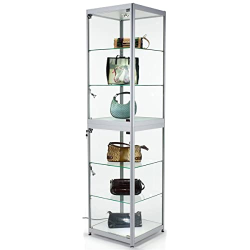 Portable Exhibition Shelves : Collapsible display shelves for craft and trade shows or shops